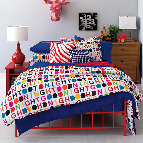 Divatex Home Fashions 9 by Novogratz Sweet Dreams Bed in a Bag Bedding Set