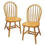 Set of 2, Windsor Chair, Assembled by Winsome