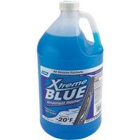 Xtreme Blue 30907 Windshield Washer Fluid, 1 gal, Clear Blue, Liquid