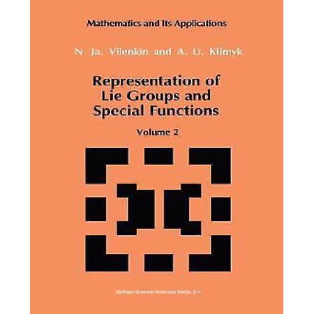 Representation Of Lie Groups And Special Functions  Volume 2  Class I Representations  Special Functions  And Integral Transforms