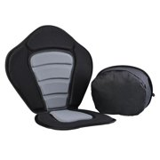 Adjustable Fishing Kayaking Canoeing Padded Seat with Backrest & Detachable Seat Bag WCYE by