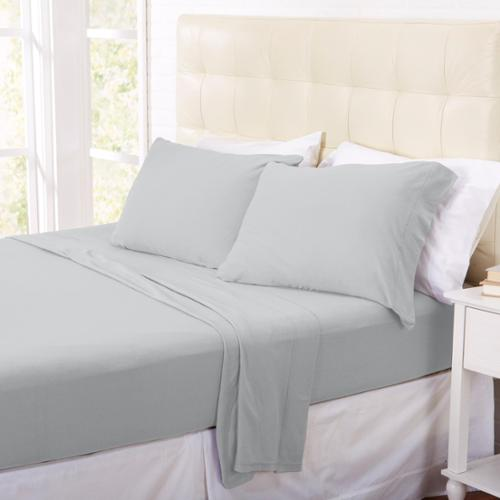 Home Fashion Designs Oxford Collection Super Soft Polar Fleece Luxury Sheet Set in Solid Colors Full - Orchid