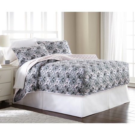Fitted Bedspread (Micro Flannel® Fitted Quilt Mini Set)