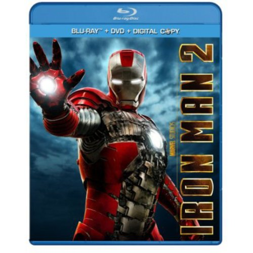 Iron Man 2 (Blu-ray + Standard DVD) (Widescreen)