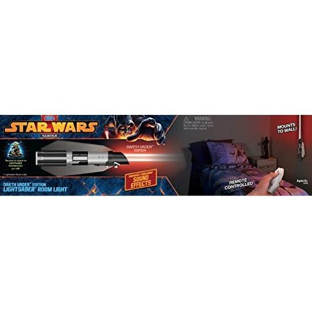 Uncle Milton Star Wars Science Darth Vader Lightsaber Room Light
