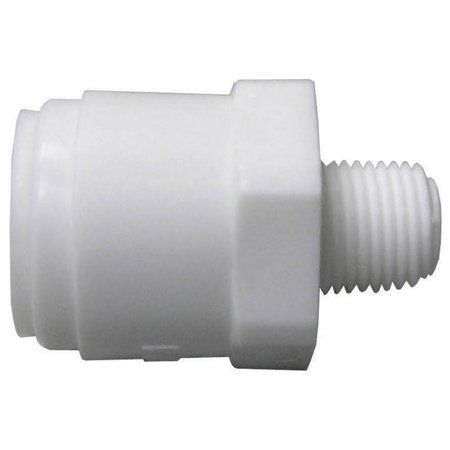 Watts Pl 3004 Multi Purpose Push Fit Tube To Pipe Adapter 1 4 X 1 8
