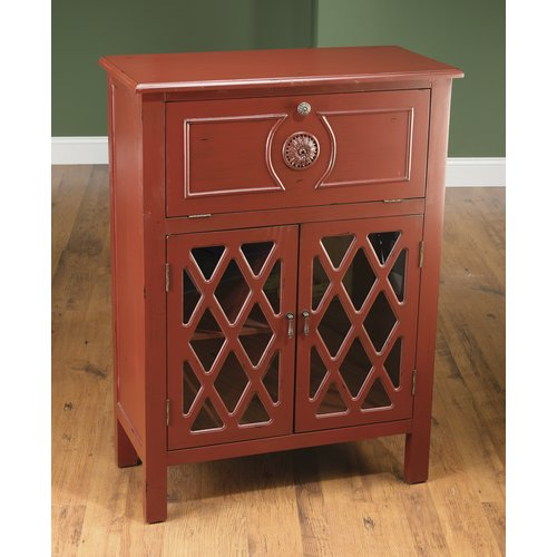 AA Importing 2 Door Wine Cabinet by AA Importing