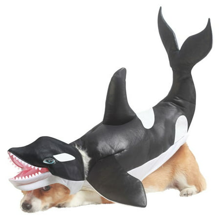 Killer Whale Dog Animal Planet Pet Halloween Costume](Planet Hollywood Halloween)