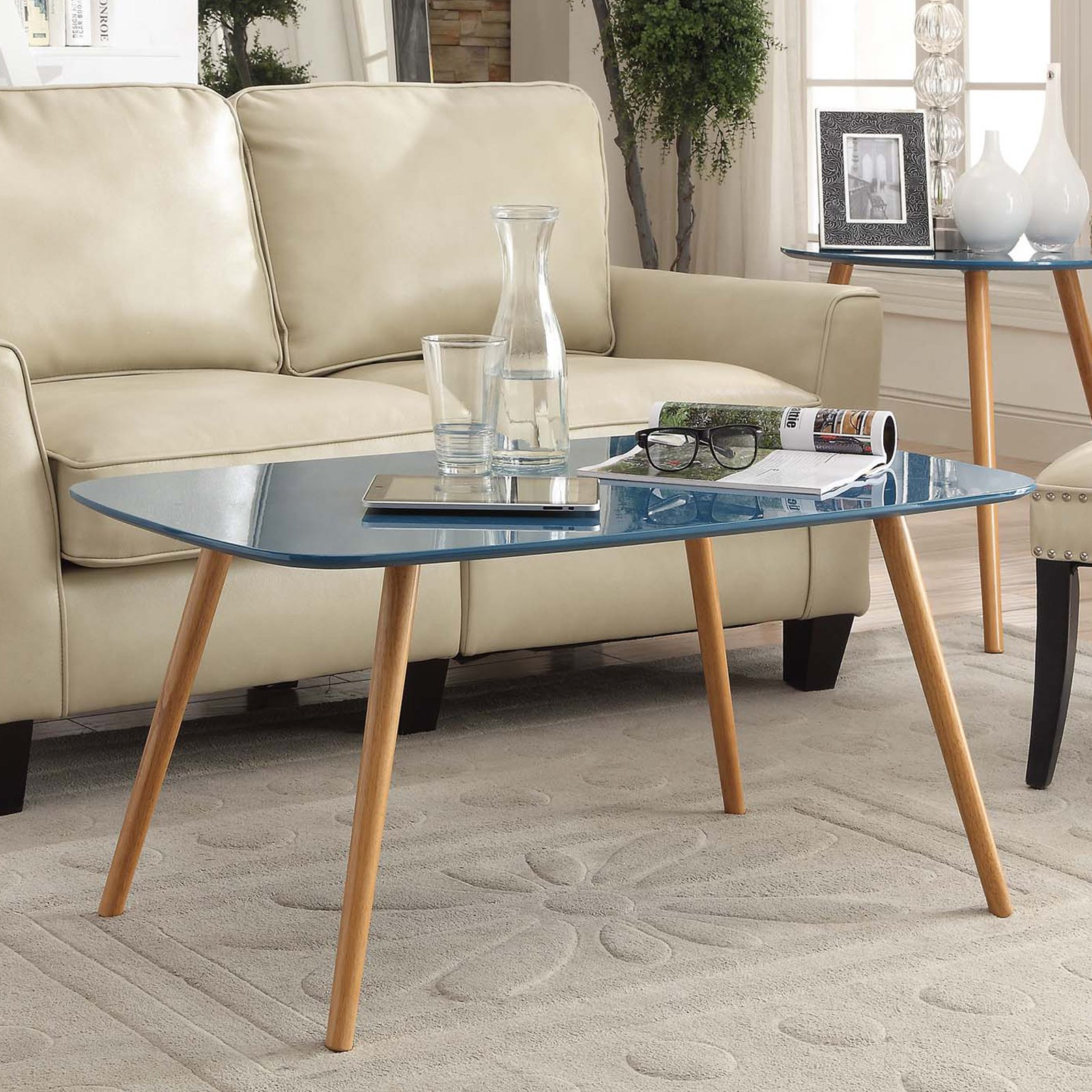 Convenience Concepts No Tools Oslo Coffee Table, Multiple Colors by Convenience Concepts, Inc.