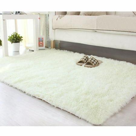 Nk 15 7 X23 6 Ultra Soft Rugs Rectangular Area Fluffy Living Room Carpet Warm Bedroom Home Decorate Floor Mats Blue Grey Pink