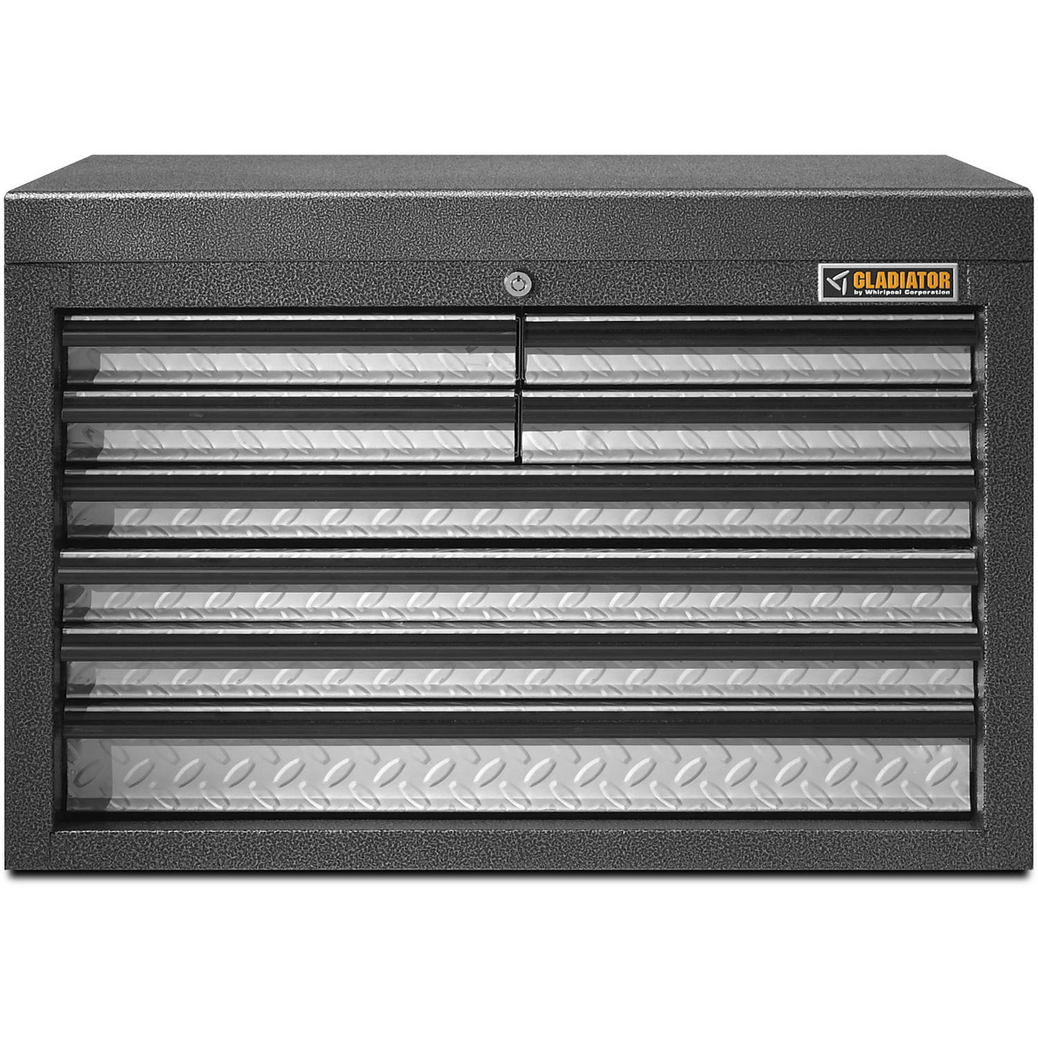 Genial Gladiator 26 In. W 8 Drawer GearChest Tool Chest Top