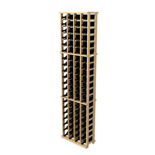 wine cellar innovations rustic pine 84 bottle wall mounted wine rack