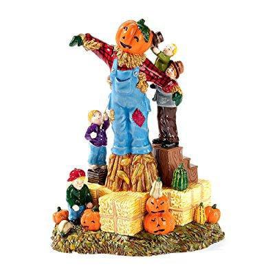 building the scarecrow the original snow village halloween department 56