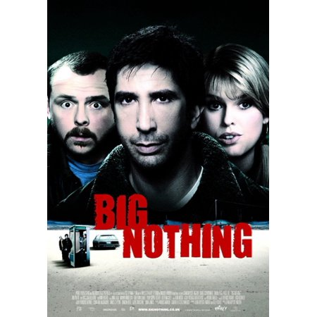 Big Nothing Movie Poster  11 X 17