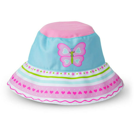 Melissa & Doug Sunny Patch Cutie Pie Butterfly Hat with Wide Brim for Sun Protection](Pumpkin Pie Hat)