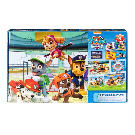 PAW Patrol 8 Pack of Jigsaw Puzzles (Jigsaw Face)