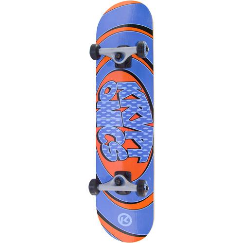 "Bravo Sports Kryptonics Recruit Series 31"" Skateboard, Ripples"