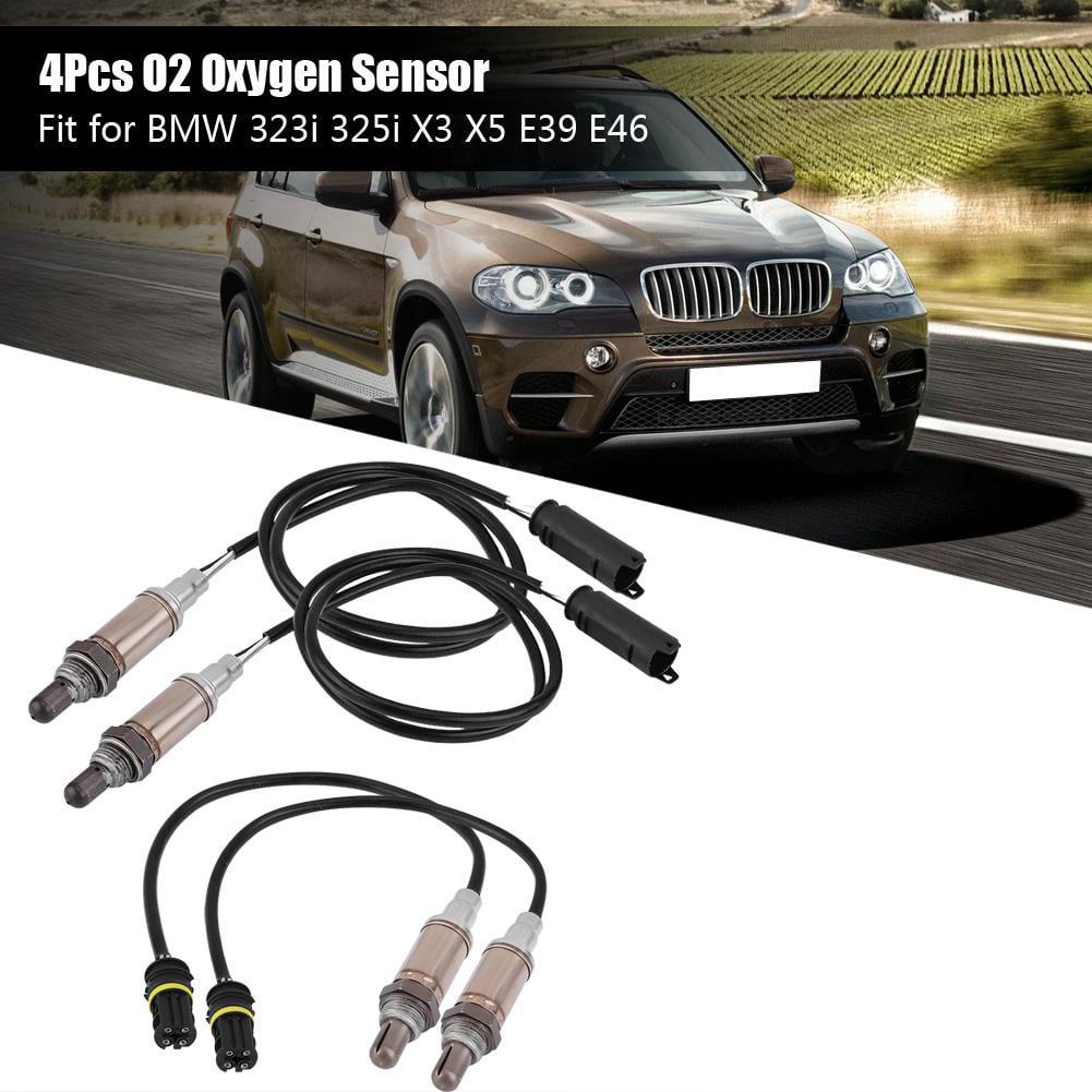 4 PCS O2 Oxygen Sensor Upstream /& Downstream for BMW 323i 325i X3 X5 E39 E46