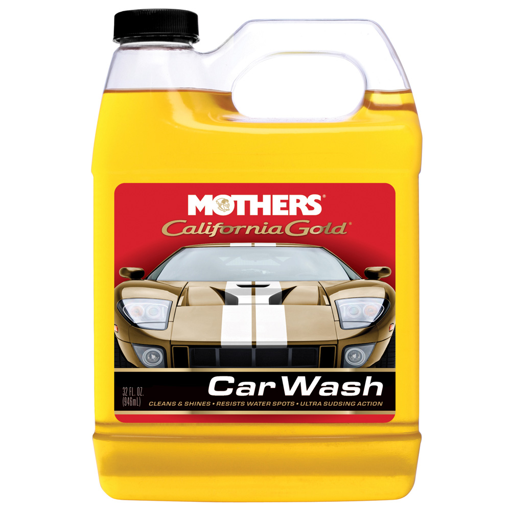 MOTHERS CALIFORNIA GOLD CAR WASH 32 OZ.