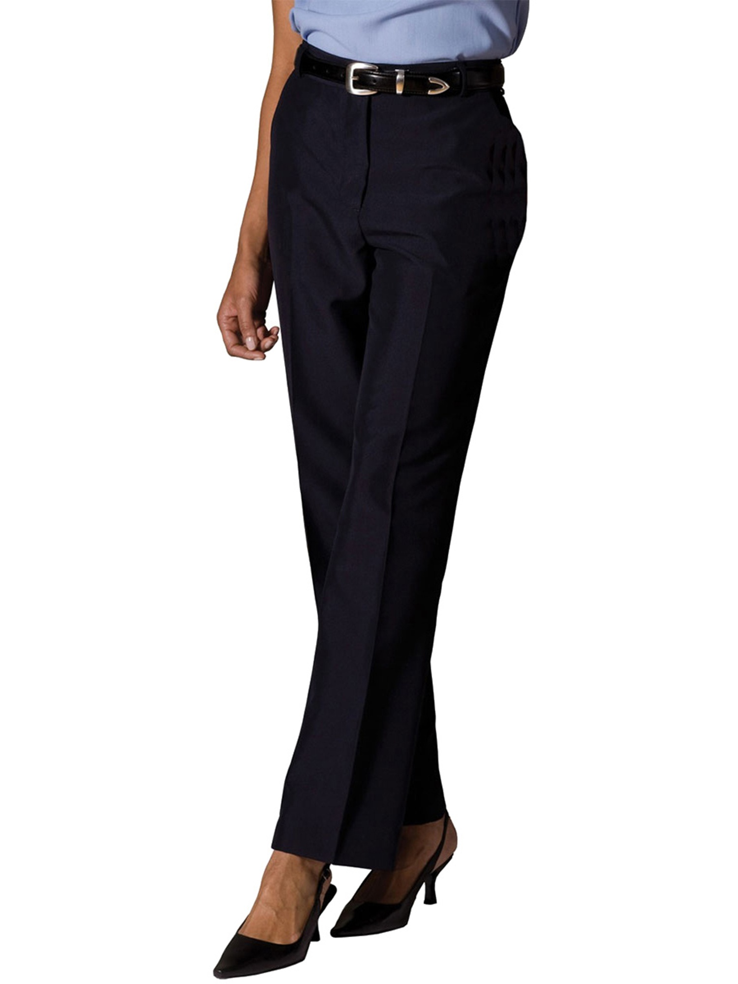Edwards Garment Women's Flat Front Pant