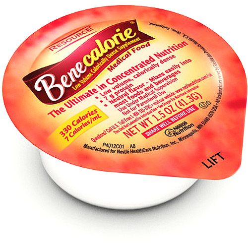 Benecalorie Concentrated Liquid Nutrition, 24 X 1.5-Ounce cups (liquid)