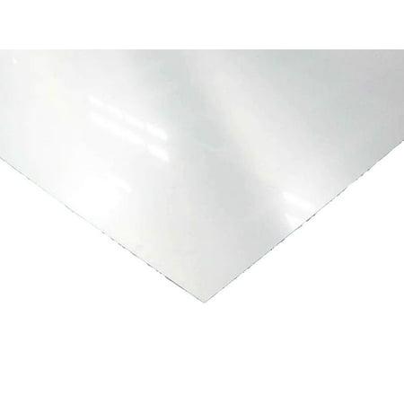 RMP 24 Ga. 304 Stainless Steel Sheet, #4, 12