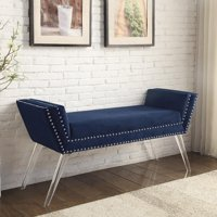Inspired Home Justin Contemporary Bedroom Bench