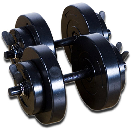 Marcy 40 lb Vinyl Dumbbell Set: VB-40