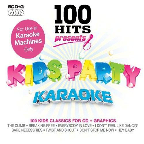 100 Hits Kids Party Karaoke [CD] by