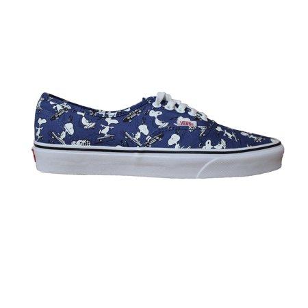 b8bead5c3f  49.95 - Vans Unisex Authentic Snoopy Skateboarding Sneakers (11.5) -  Walmart.com