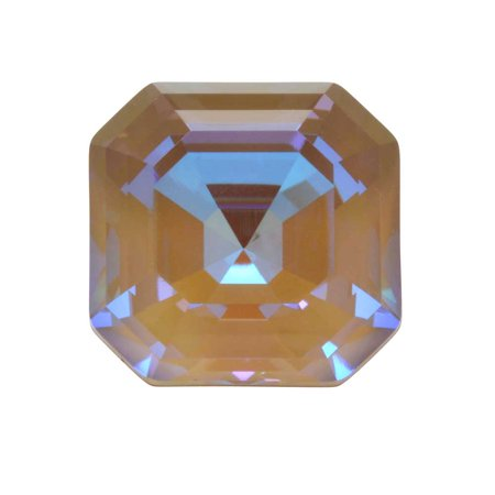Swarovski Crystal, #4480 Imperial Fancy Stone 10mm, 1 Piece, Crystal Cappuccino DeLite
