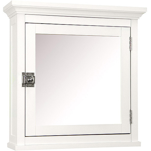 Classy Collection Medicine Cabinet, White by Elite Home Fashions