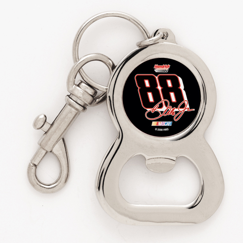 Dale Earnhardt Jr Bottle Opener Keychain