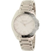 Coach Women's Tristen 14501778 Silver Stainless-Steel Quartz Watch