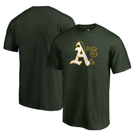 Oakland Athletics Fanatics Branded X-Ray Big & Tall T-Shirt - Green