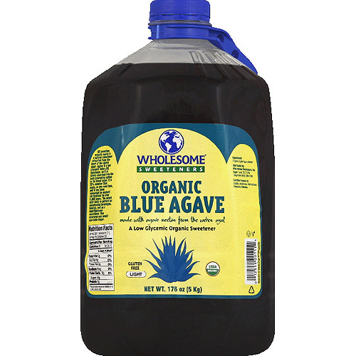 Wholesome Sweeteners Organic Blue Agave, 176 oz, (Pack of 2)