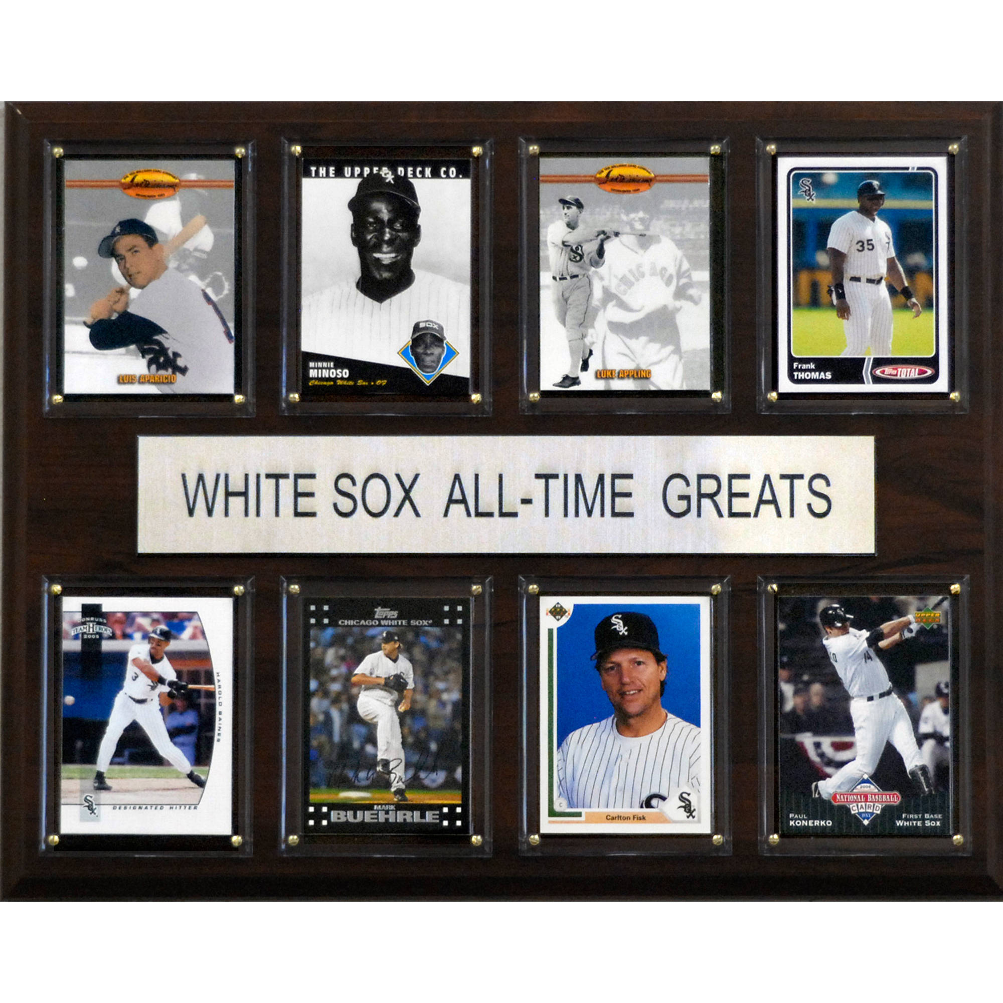 C&I Collectables MLB 12x15 Chicago White Sox All-Time Greats Plaque