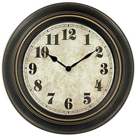 45min 18 Inch Retro Wall Clock Silent