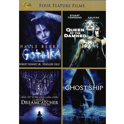 4 Film Favorites: Thriller - Gothika / Dreamcatcher / Queen Of The Damned / Ghost Ship (Widescreen)