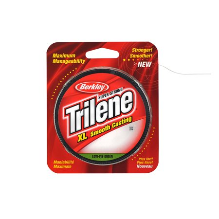 Trilene XL Smooth Casting Monofilament Service Spools, Smoother and stronger casting By Berkley