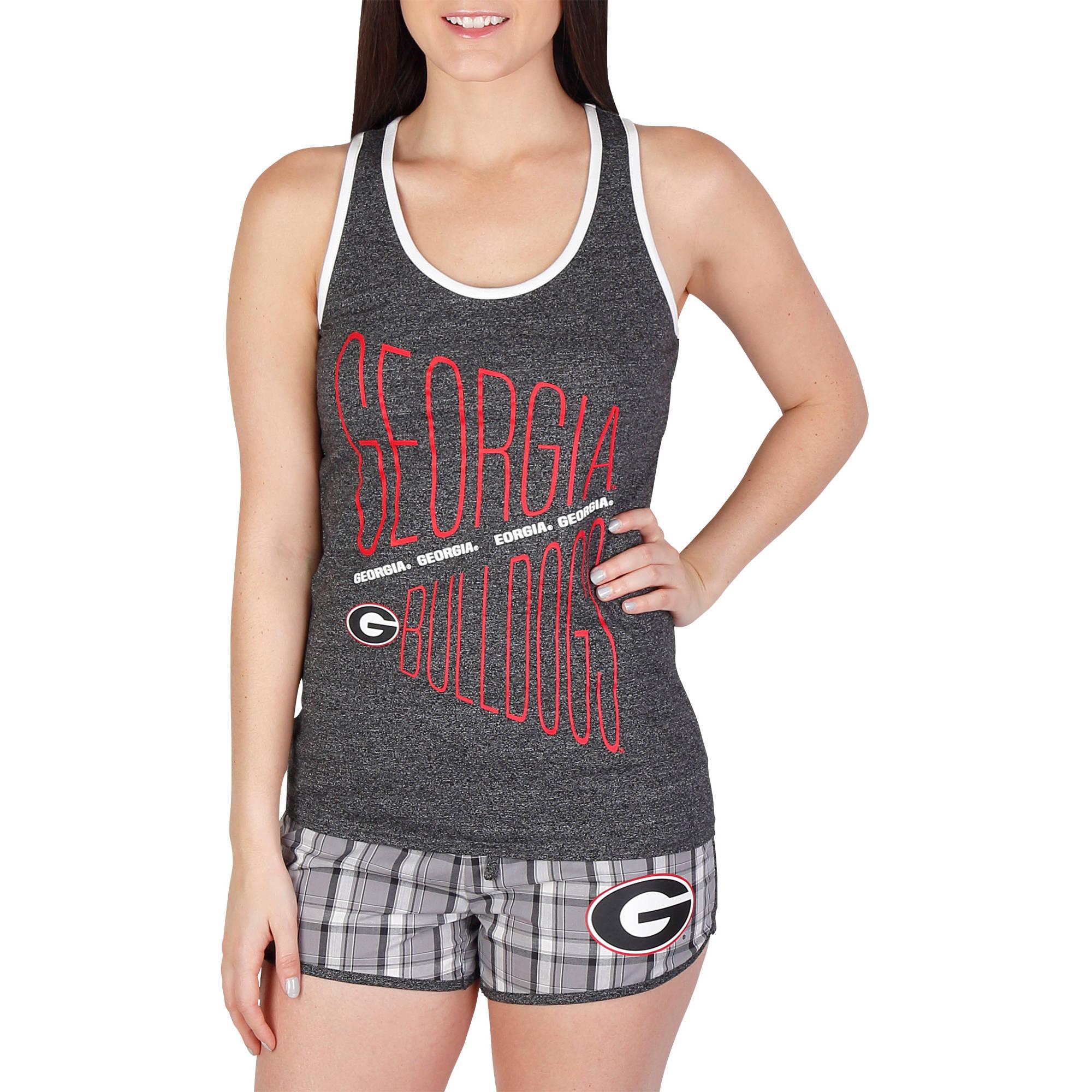 NCAA Georgia Lateral Ladies' Short/Tank Set