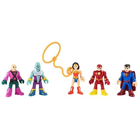 Super Hero And Villain (Fisher-Price Imaginext DC Super Friends Heroes & Villains)