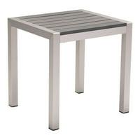 Zuo Modern Cosmopolitan Aluminum Patio Side Table