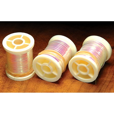 Hareline Single Spool Pearlescent Tinsel Fly Tying Materials- All Colors & Sizes