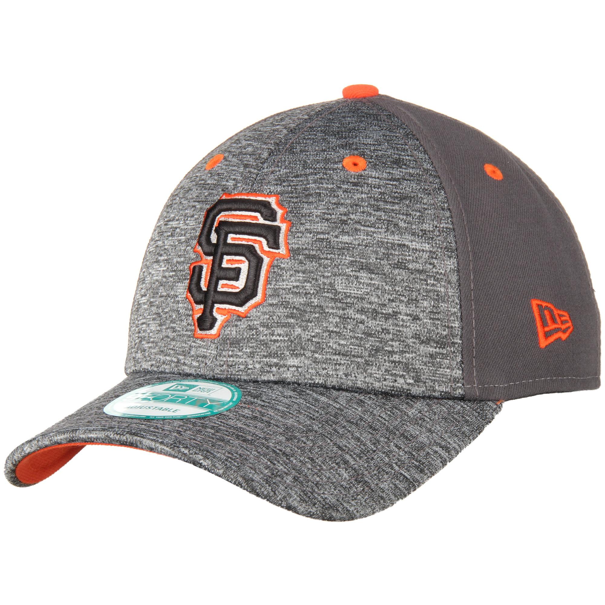 San Francisco Giants New Era The League Shadow 9FORTY Adjustable Hat - Heathered Gray - OSFA