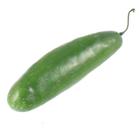 Artificial Fake Plastic Cucumber Vegetables House Kitchen Decor
