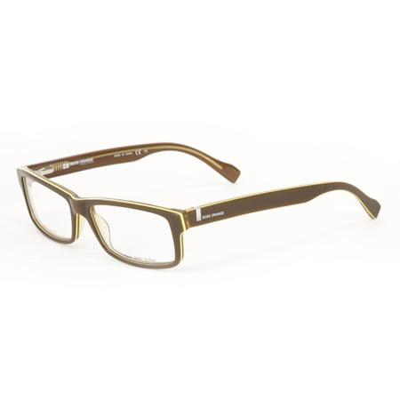 6f1654696845 New Hugo Boss Orange 0079 Mens Womens Full Rim Brown Lime. New Hugo Boss  Orange 0073 Sophisticated Upscale Eyeglass Frame Glasses Eyewear ...