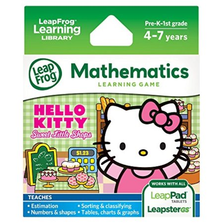 LeapFrog Learning Game Hello Kitty: Sweet Little Shops (works with LeapPad tablets and LeapsterGS) (Leappad 2 Shows)