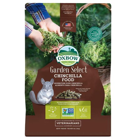 Chinchilla - 3 lbs - Garden Select, Non-GMO formula By Oxbow