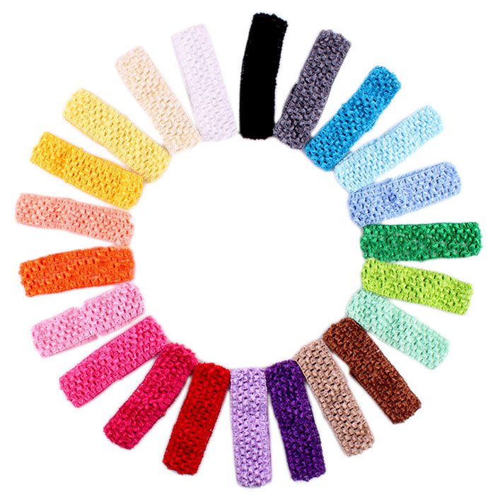 Outtop Crochet Headbands Assorted Variety Pack Babies Hair Band